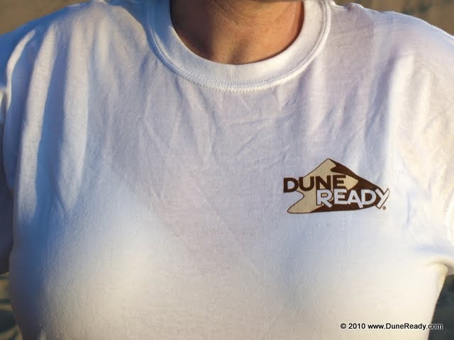 Short Sleeve T Shirt Left-Chest Front Dune Ready Logo with MX and ATV Rear